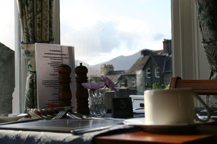 Breakfast in Keswick at Brierholme Guest House